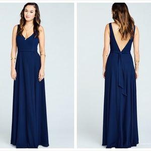 Show me your mumu Jean Maxi Dress